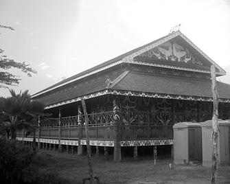 Download this Rumah Adat Dayak Lamin picture