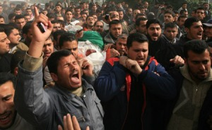 Pemakaman Sayyid Sayyam (Xinhua Photo)