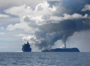 Detik-detik letusan gunung api(Dana Stephenson/Getty Images)