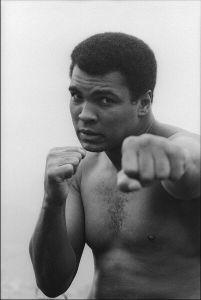 saya ingin menulis tentang petinju legendaris Muhammad Ali