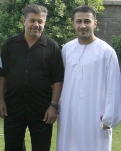 Asy Syahid Saeed Chmagh (kiri) dan  Asy Syahid Namir Noor-Eldeen (kanan)